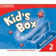 Kid's Box 2 Audio CDs: Level 2 by Caroline Nixon