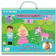 Soft Shapes Magical Kingdom Chunky Puzzle Playset by Innovative Kids