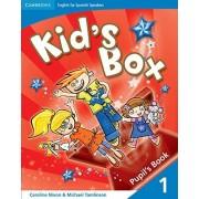 Caroline Nixon Kid's Box for Spanish Speakers 1 Pupil's Book