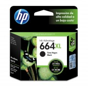 Cartucho HP 664XL-Negro