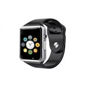 Malawy AlbitaStore A1 Smart Watch (Disponible en Español) / Reloj inteligente A1 / Reloj Bluetooth / Reloj Android / Reloj para la salud con pantalla táctil y cámara, Tarjeta Sim y puerto para tarjeta TF, batería de larga duración en tiempo de espera para