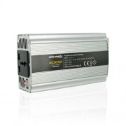 Whitenergy invertor DC/AC de la 12V DC la 230V AC 400W, USB