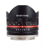 Samyang 8mm Fisheye F2.8 Fuji X black