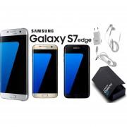 Samsung Galaxy S7 Edge Dorado 4GLTE 32GB Cámara 12MP Liberado Para Cualquier Compañía Garantía De 1 Año