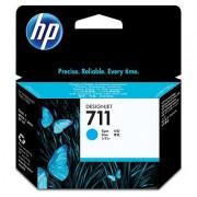 HP 711 Cyan Ink Cartridge, 29-ml (CZ130A)