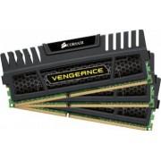 Kit memorie Corsair 3x4GB DDR3 1600MHz Vengeance rev A