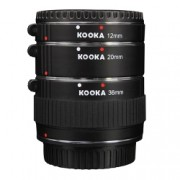 Kooka KK-SE47 set tuburi extensie (inele macro - 10mm, 16mm, 21mm) pentru Sony E