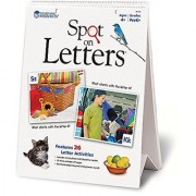 Learning Resources Spot On Letters Flip Chart