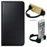 Panasonic P55 Novo Flip cover With OK Stand For Mobiles-Color May Vary