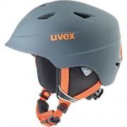 Uvex 5661325801 casco de protección - cascos de protección (http: www.uvex-sports.de/de/wintersport/skihelme/uvex-airwing-2-pro-titanium-orange-mat)