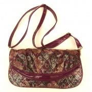 Purple & Gold Sholder Bag