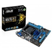 Asus M5A78L-M LE/USB3 Socket AM3+ VGA DVI 8 Channel Audio mATX Motherb