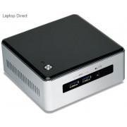 Intel BOXNUC5-i5MYHE NUC Black & Silver i5-5300U 2.9Ghz Miniature PC with Free Dos