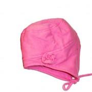 Caciula plus fular pink 11-marimea 48