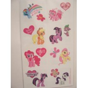 My Little Pony Friendship is Magic Tattoos ~ Ponies, Hearts, and BFF's (16 Tattoos) by Designware