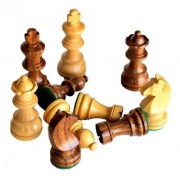 """3"""" King Height - Collector Edition Wooden Chess Pieces Staunton Figure Figurine by Stonkraft"""