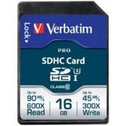 Card de memorie Verbatim SDHC, 16 GB, Clasa 10
