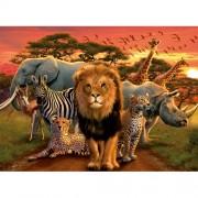 Puzzle Splendoare africana, 500 piese, RAVENSBURGER Puzzle Adulti