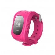 Ceas Smartwatch GPS monitorizare copii IMK Q50, Roz