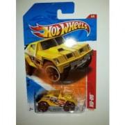 Mattel Hot Wheels 6/6 THRILL RACERS - JUNGLE '11 Yellow RD-05 #216/244