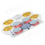 Cheerlink MD-1008 USB portable de multiples funciones profesional MIDI de bateria electronica - multicolor