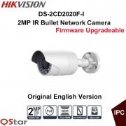 Hikvision Original English Surveillance Camera DS-2CD2020F-I POE 2MP IR Bullet IP Camera 30m Onvif CCTV Camera outdoor IP67