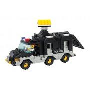 Sluban Building and Construction Blocks M38-B1900 Command Car Building Block Construction Set (206 Piece)