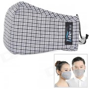 Zero Zone L067-CH Electrostatic Activated Carbon Insertable Breathing Mask w/ Replacement Filters