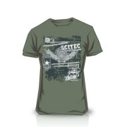 Camiseta Made of Iron Green