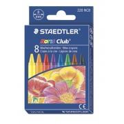Creioane colorate cerate 8 culori/set STAEDTLER
