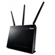 Router Wireless ASUS RT-AC68U, 600+1300Mbps, 3G/4G, USB 3.0, 3 x Antene detasabile + Cablu UTP Patch cord Gembird cat. 5E, 3m
