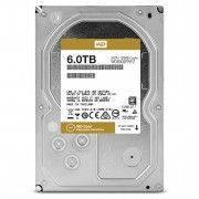 HDD 6TB SATAIII WD Gold 7200rpm 128MB for servers (5 years warranty)