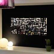 Miroir décoratif LOST PARTS : comme un labyrinthe - 98 x 45 cm - déco et design