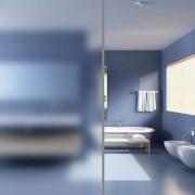 vidaXL Фолио за замъгляване на прозорци 0,9 х 20 см