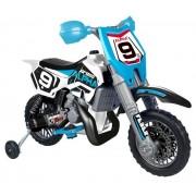 Moto Electrique Enfant Cross Alpha 6 Volts 14 Pouces