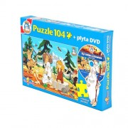 Puzzle Był sobie człowiek - 104 elementy + DVD