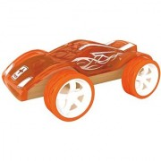 Hape - Mighty Mini - Twin Turbo Bamboo Toy Car