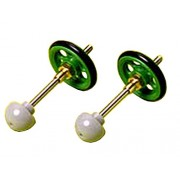 Short Stabilizing Pole and Roller Set Mini 4WD Grade Up Parts Series