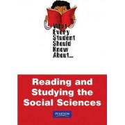 What Every Student Should Know About Reading and Studying Social Sciences by Sally A. Lipsky