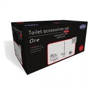 Toilet Accessoires Set Mittal RVS