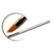 Pensula maner acril, tesita, marimea 4, art. nr.: 40005