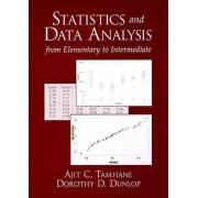 Statistics and Data Analysis by Ajit C. Tamhane