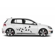 Sticker auto - Pasari zburatoare