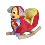 Knorrtoys 40327 Rocking Dog Tim with Sound Including Hand Puppet