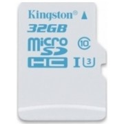 Card de memorie Kingston SDCAC/32GBSP, microSDHC, 32GB, Clasa 10, UHS-I U3