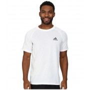 adidas Ultimate SS Crew Tee WhiteDGH Solid Grey