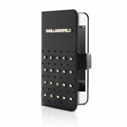 Karl Lagerfeld Booktype Trendy Collection iPhone 5/5S Case with Studs