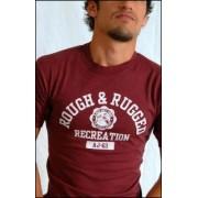 Ajaxx63 T Shirt Rough & Rugged AS34