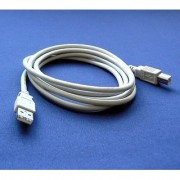 Dell V305 Printer Compatible USB 2.0 Cable Cord for PC Notebook Macbook - 6 feet White - Bargains Depot