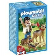 PLAYMOBIL German Shepherd with Puppies